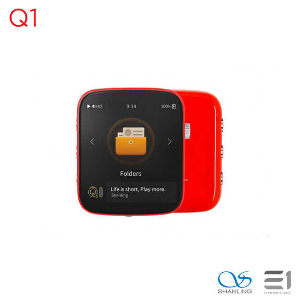 Shanling, Shanling Q1  Portable Music Player with aptX Bluetooth - Buy at E1 Personal Audio Singapore