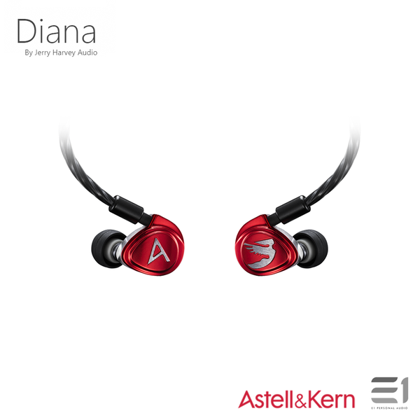 Astell&Kern, ASTELL&KERN Diana by Jerry Harvey Audio - E1 Personal Audio Singapore