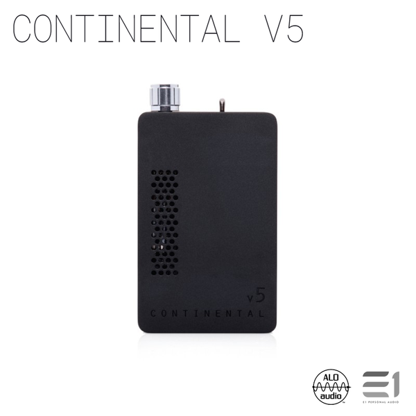 ALO Audio, ALO Audio Continental V5 Portable Amplifier(Black) - Buy at E1 Personal Audio Singapore