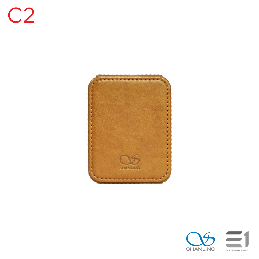 Shanling, SHANLING C2 Protective Leatherette Hard Storage Case - Buy at E1 Personal Audio Singapore