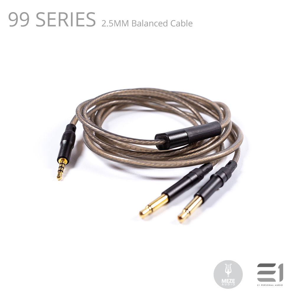 Meze, Meze 99 Series 2.5MM Balanced Cable (FOR 99 Classics & 99NEO) - Buy at E1 Personal Audio Singapore