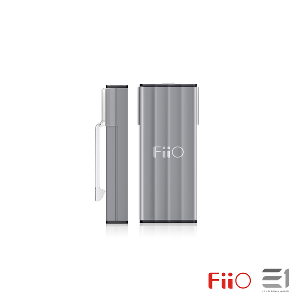 FiiO, FiiO K1 Portable Headphone Amplifier & DAC (Titianium)- E1 Personal Audio Singapore