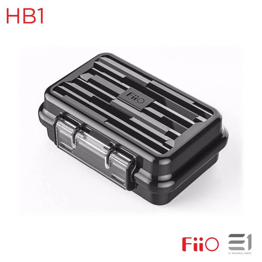 FiiO, FiiO HB1 Waterproof Earphone Carrying Case - Buy at E1 Personal Audio Singapore