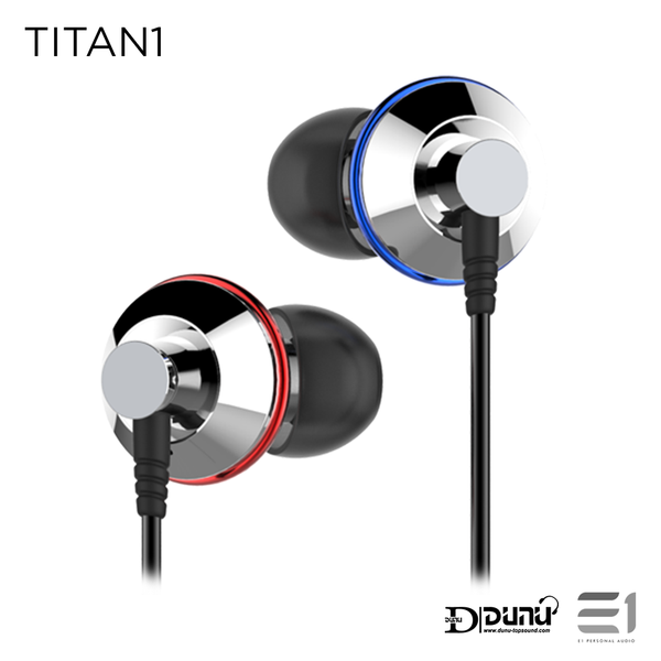 Dunu, Dunu Titan 1 In-earphones- E1 Personal Audio Singapore
