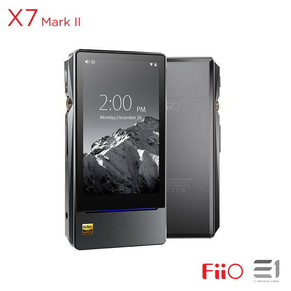 FiiO, FiiO X7 Mark II High Resolution Lossless Music Player- E1 Personal Audio Singapore