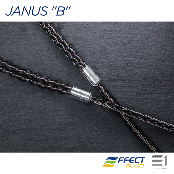 "Effect Audio, EFFECT AUDIO JANUS ""B"" - BASSO VER. CABLE (MMCX / 2PIN)[3.5MM / 4.4MM] - E1 Personal Audio Singapore"