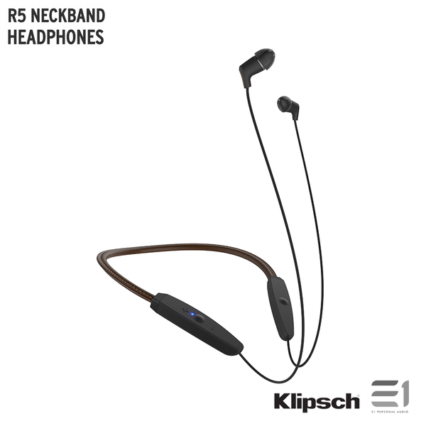 Klipsch, Klipsch R5 NECKBAND HEADPHONES - Buy at E1 Personal Audio Singapore