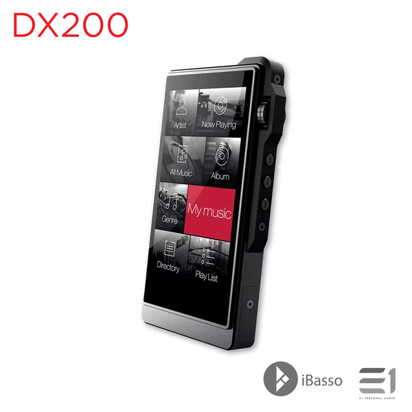 iBasso, iBasso DX200 Portable Reference Digital Audio Player - E1 Personal Audio Singapore