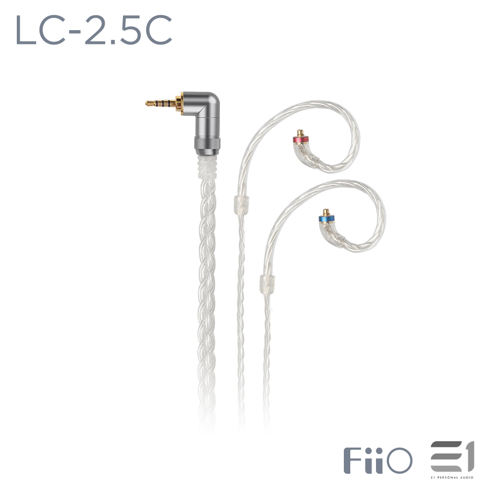FiiO, FiiO LC-2.5C Replacement Cable for MMCX Connector (2.5mm balanced) - E1 Personal Audio Singapore