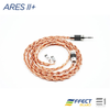Effect Audio, Effect Audio Ares II+ cable (MMCX / 2pin)[EA 3.5mm / EA 2.5mm] - E1 Personal Audio Singapore