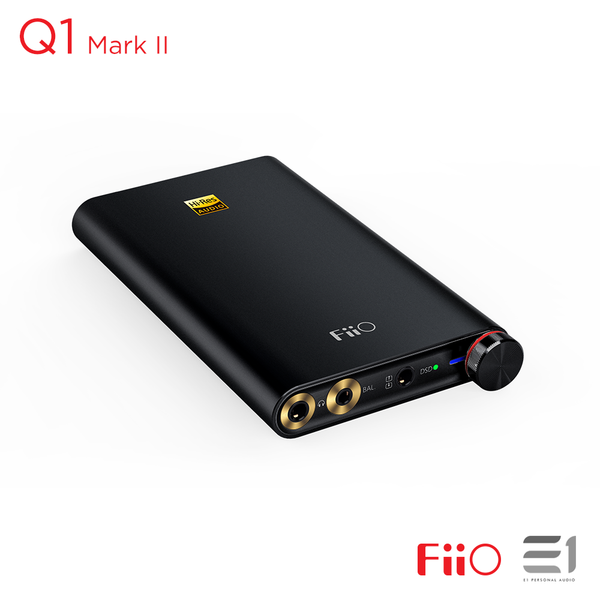 FiiO, FiiO Q1 Mark II Portable USB DAC Amplifier- E1 Personal Audio Singapore