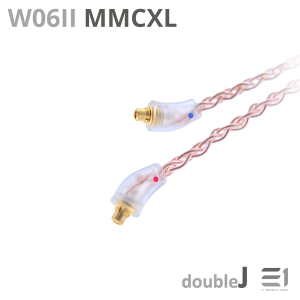 J&J, J&J W06II Cables [MMCX L 3.5mm] [2PIN UE 3.5mm] - Buy at E1 Personal Audio Singapore