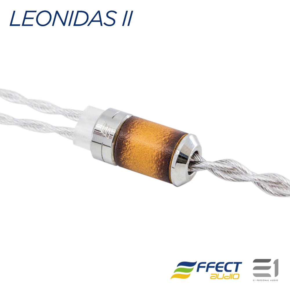 Effect Audio, EFFECT AUDIO LEONIDAS II CABLE (MMCX / 2PIN) [4.4MM / 3.5MM / 2.5MM] - Buy at E1 Personal Audio Singapore