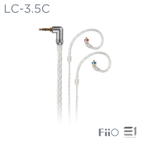 FiiO, FiiO LC-3.5C Replacement Cable for MMCX Connector (3.5mm Single-ended) - E1 Personal Audio Singapore