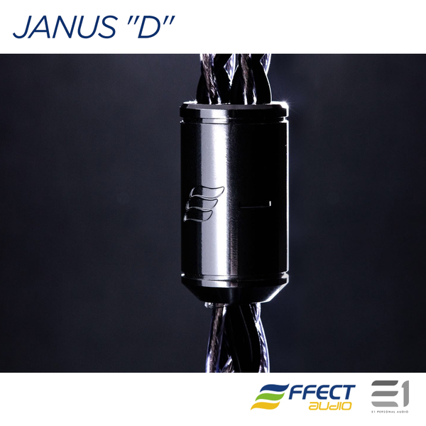"Effect Audio, EFFECT AUDIO JANUS ""D"" - DYNAMIC VER. CABLE (MMCX / 2PIN)[3.5MM / 4.4MM] - E1 Personal Audio Singapore"