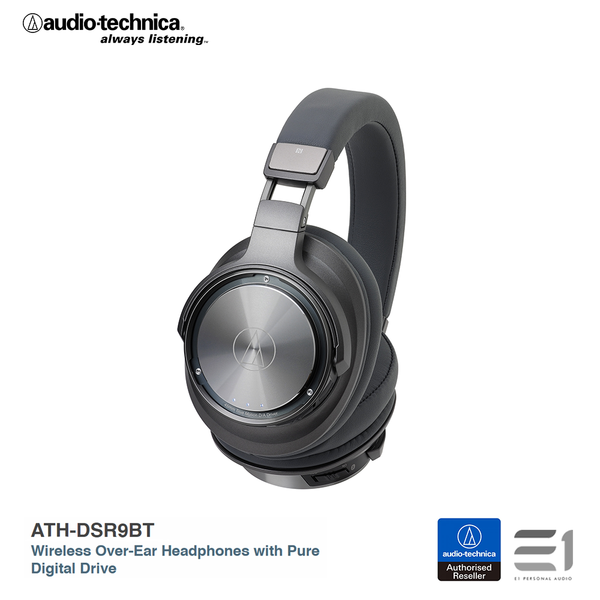 Audio-Technica, ATH-DSR9BT Wireless Over-Ear Headphones with Pure Digital Drive - E1 Personal Audio Singapore