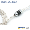 Effect Audio, Effect Audio Thor Silver II Cable (MMCX / 2pin)[EA 3.5mm / EA 2.5mm] - E1 Personal Audio Singapore