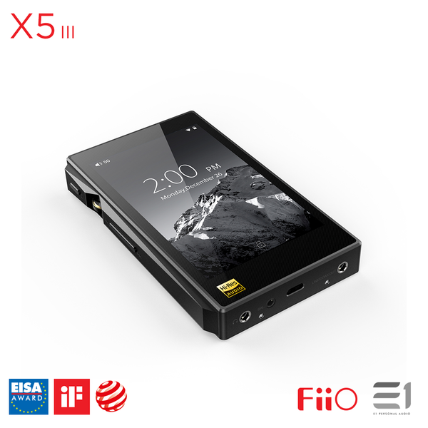 FiiO, FiiO X5 3rd Generation Portable Music Player- E1 Personal Audio Singapore