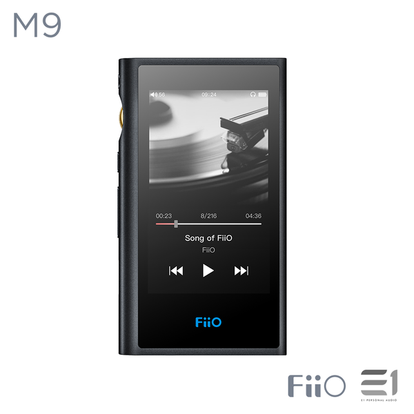 FiiO, FiiO M9 Portable High-Res Lossless Music Player - Buy at E1 Personal Audio Singapore