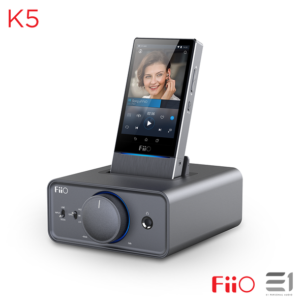 FiiO, FiiO K5 Docking Desktop Headphone Amplifier- E1 Personal Audio Singapore