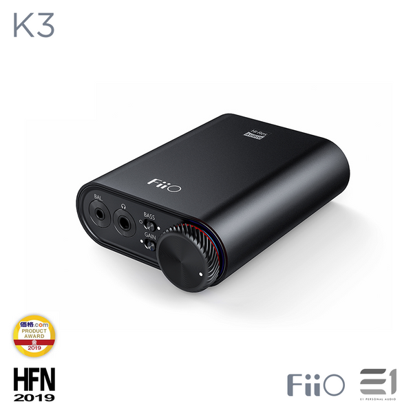 FiiO, FiiO K3 Headphone DAC & Amplifier - Buy at E1 Personal Audio Singapore