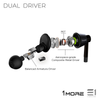 1More, 1More (E1017) Dual Driver IN-EAR HEADPHONES - Buy at E1 Personal Audio Singapore