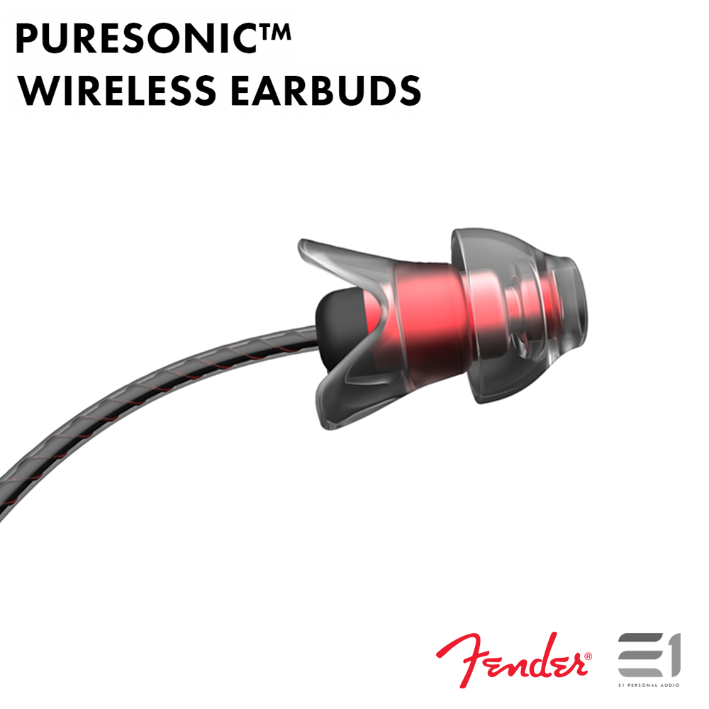Fender, Fender PURESONIC™ WIRELESS EARBUDS - Buy at E1 Personal Audio Singapore