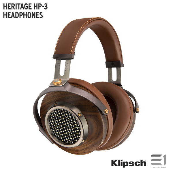 Klipsch, Klipsch HERITAGE HP-3 HEADPHONES - Buy at E1 Personal Audio Singapore