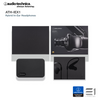 Audio-Technica, Audio-Technica ATH-IEX1 In-Ear Hybrid Earphones - Buy at E1 Personal Audio Singapore