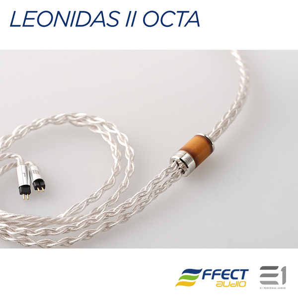 Effect Audio, EFFECT AUDIO LEONIDAS II OCTA CABLE (MMCX / 2PIN / ATH) [4.4MM / 3.5MM / 2.5MM] - Buy at E1 Personal Audio Singapore