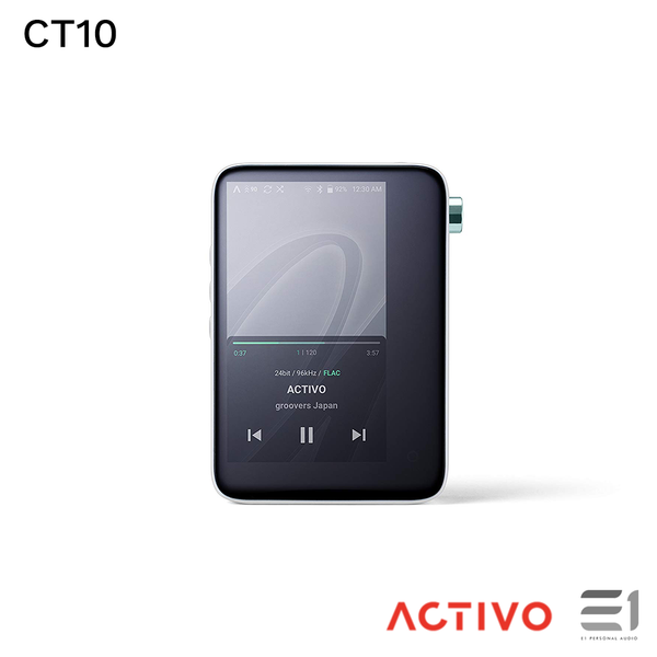 Activo, Activo CT10 Portable High Resolution Music Player - E1 Personal Audio Singapore