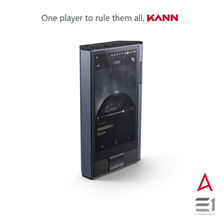 Astell&Kern, Astell&Kern KANN Digital Music and Media PLAYER (Silver) - Buy at E1 Personal Audio Singapore