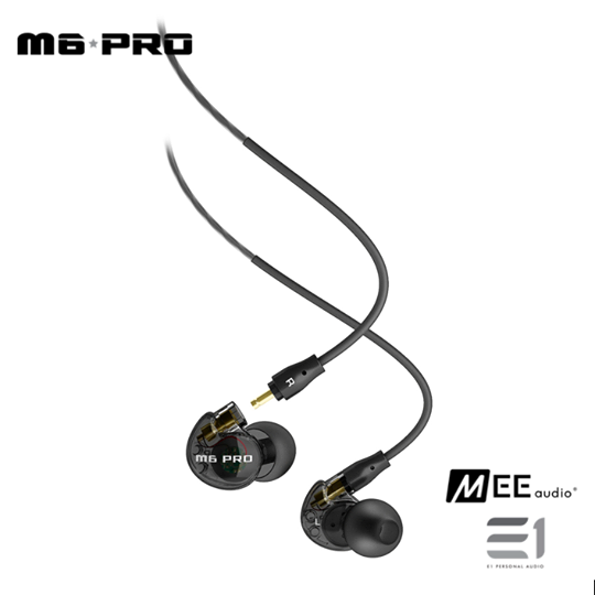 MEE Audio, MEE Audio M6 Pro In-earphones- E1 Personal Audio Singapore