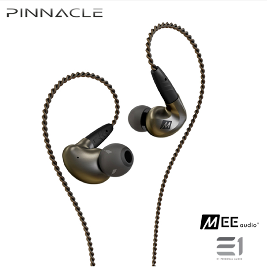 MEE Audio, MEE Audio Pinnacle P1 In-earphones - E1 Personal Audio Singapore