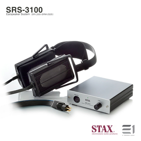 Stax, Stax SRS-3100 Electrostatic Earspeakers System (SR-L300+SRM252S) - Buy at E1 Personal Audio Singapore