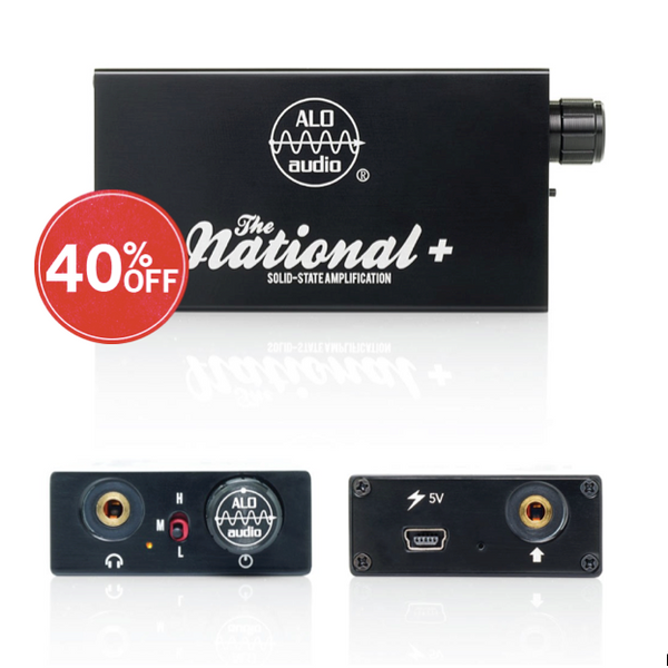 ALO Audio, ALO Audio National+ Portable Audio Amp - E1 Personal Audio Singapore