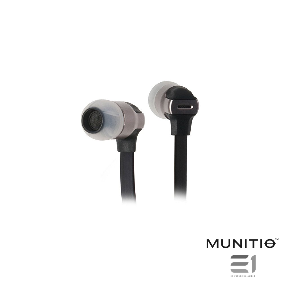 Munitio, Munitio SV In-earphones - Buy at E1 Personal Audio Singapore