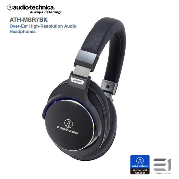 Audio-Technica, Audio-Technica ATH-MSR7 Over-ear Headphones- E1 Personal Audio Singapore
