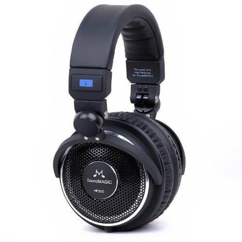 SoundMAGIC, SoundMAGIC HP200 Studio Over-ears Headphones (Black) - Buy at E1 Personal Audio Singapore