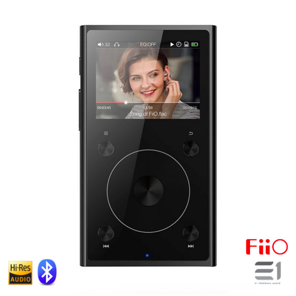 FiiO, FiiO X1-II High Resolution Lossless Music Player (2nd Generation)- E1 Personal Audio Singapore