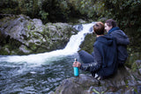 aqwa drink bottle waterfall nature photo