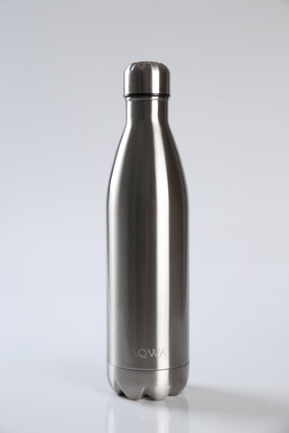 AQWA silver insulated bottle 750 ml