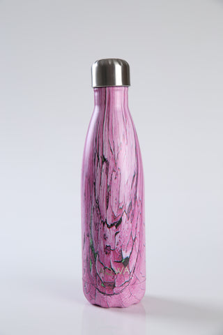 AQWA pink shatter insulated bottle 500 ml