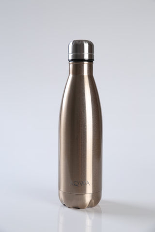 AQWA champagne insulated bottle 500 ml