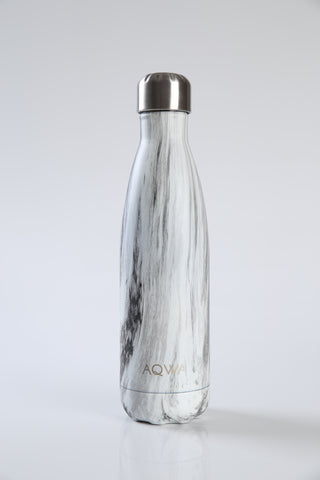 AQWA ivory grain insulated bottle 500 ml