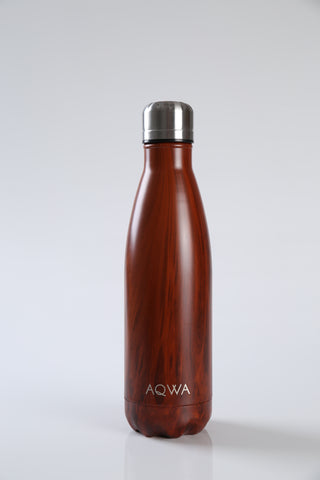 AQWA redwood insulated bottle 500 ml