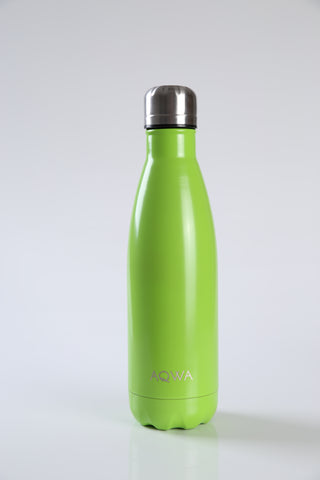 AQWA lime insulated bottle 500 ml