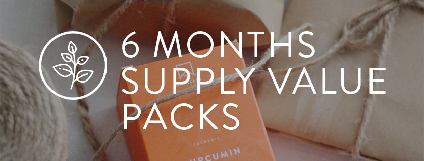 6 MONTHS SUPPLY VALUE PACKS