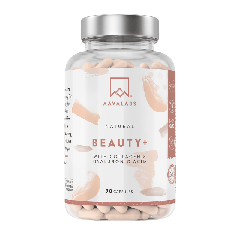 Beauty+ Collagen Supplement - For Hair, Nails, Skin - Aava Labs