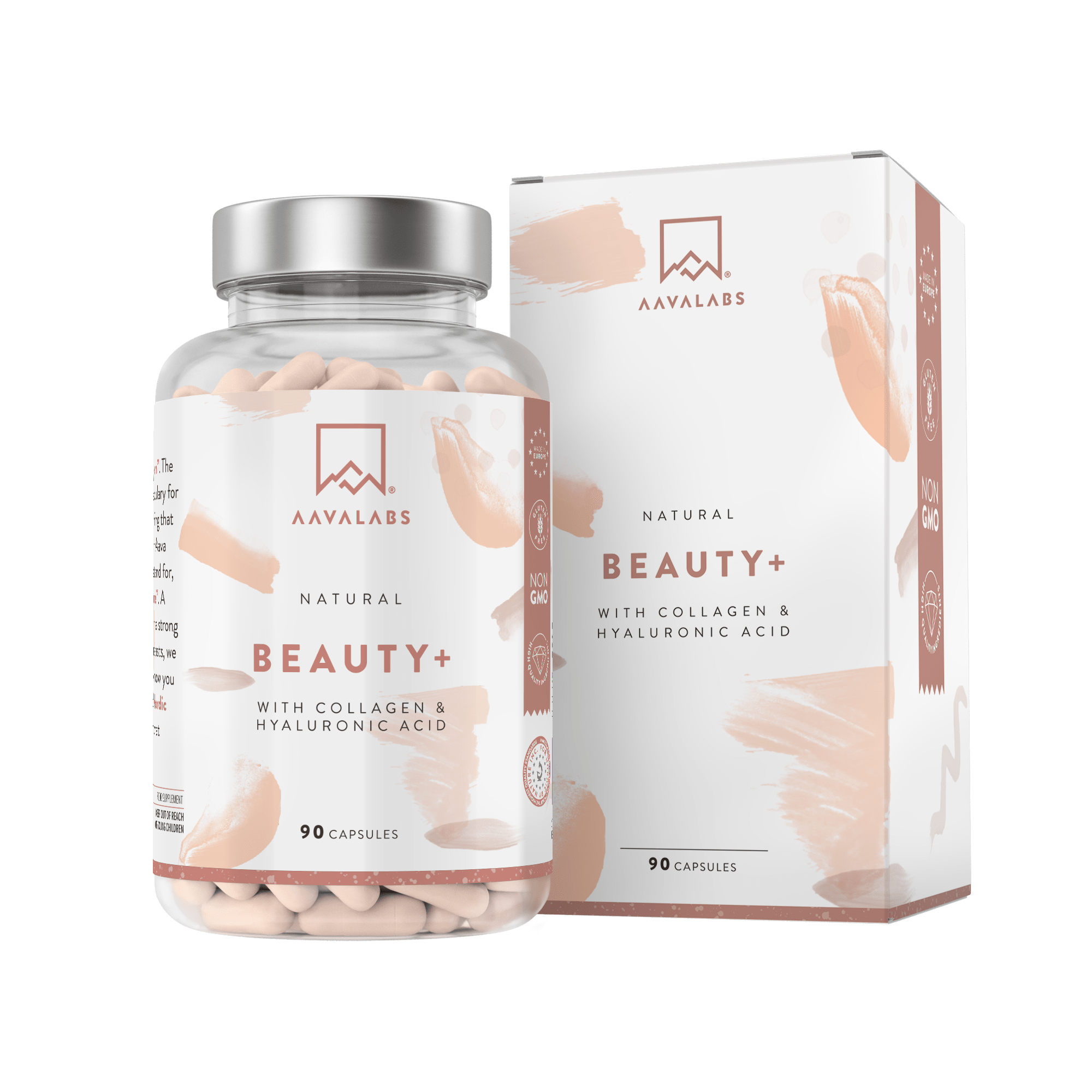Beauty+ Collagen Supplement - For Hair, Nails, Skin